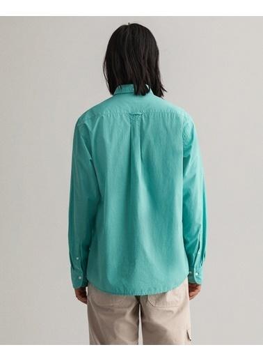 Gant Erkek Regular Fit Gömlek Yeşil
